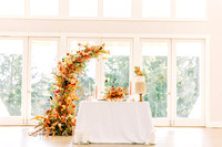 Christmas Tree Farm Wedding Inspiration With Bright Citrus Accents