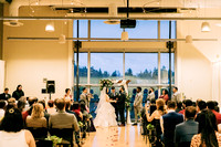 Mercer island community center wedding